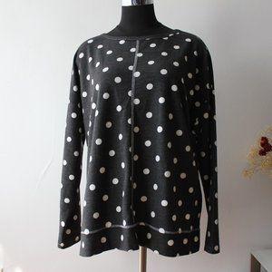 Cyrus Polka Dot Sweater XL